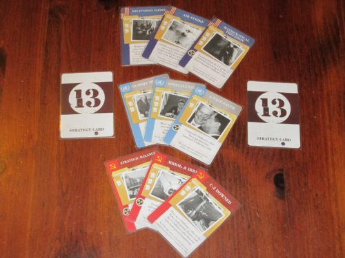 The strategy cards come in three factions, and no matter what you play, it's a compromise.