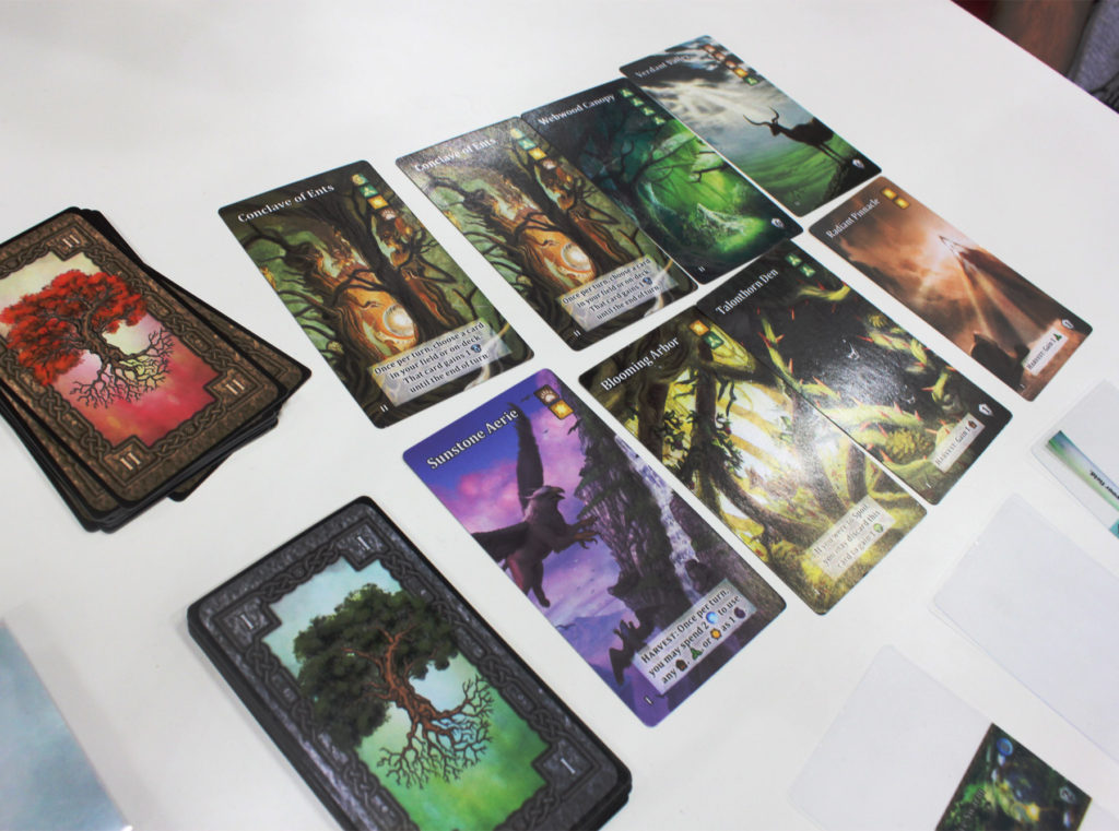"These are the fancy permanent cards. The ""vale"" cards, I think."