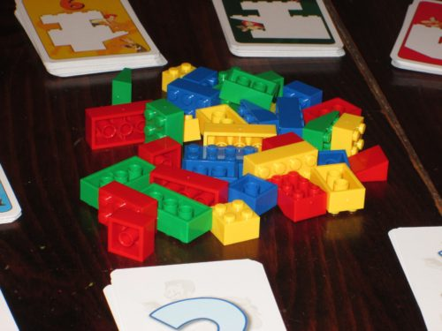 The bricks are what draw people in. Come for the toy building blocks; stay for the zany fun!