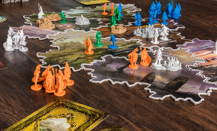 Territories and clans will ebb and flow over the course of the game.