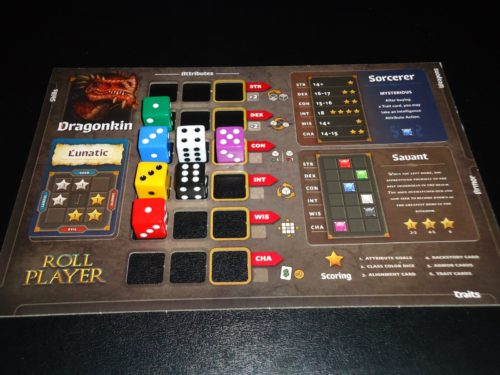 Roll Player - Board