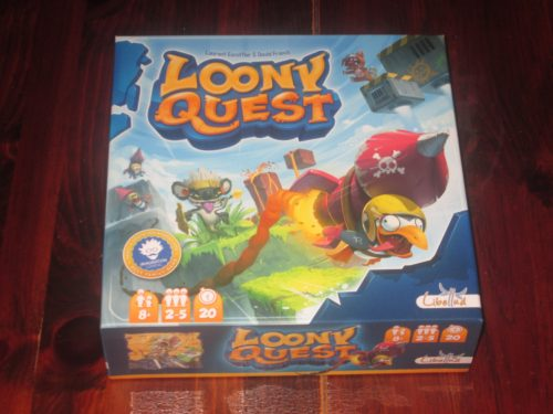 Loony Quest box