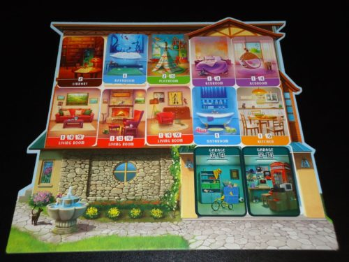 Dream Home: Home Board Filled
