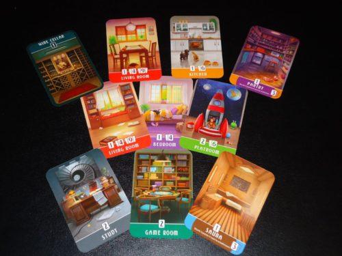 Dream Home: Room Cards