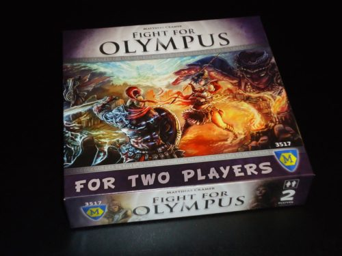 Fight for Olympus - Box
