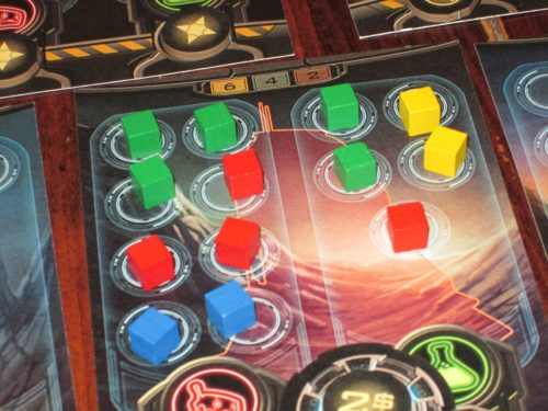 The segments in Planet Rush often require more resources to build than in Tower of Babel, forcing players to rely on one another.