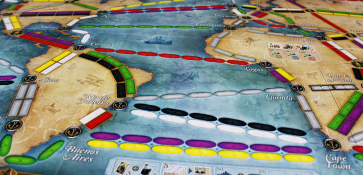 Review: Ticket to Ride: Rails & Sails