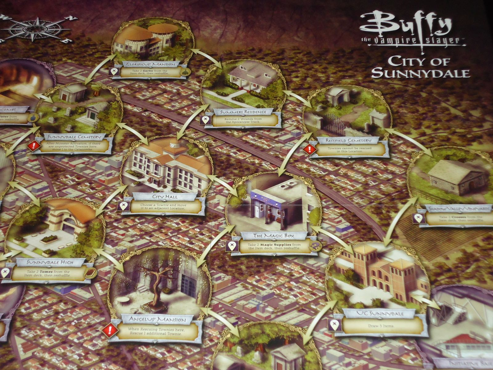 review  buffy the vampire slayer  the board game