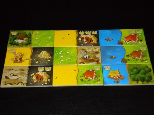 Kingdomino - House Tiles