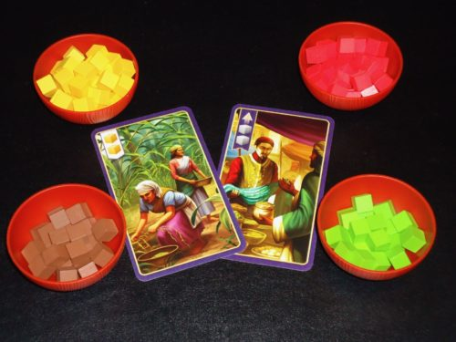Century Spice Road - Start Cards & Spices