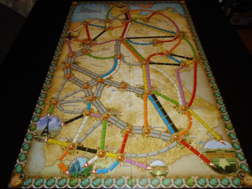 Ticket to Ride Germany - Board