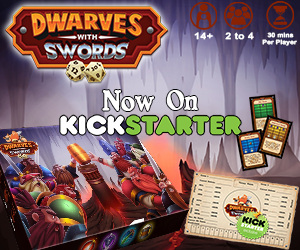 Dwarves With Swords on Kickstarter